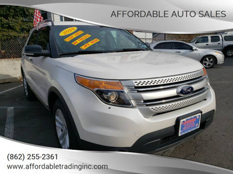 2014 Ford Explorer for sale at Affordable Auto Sales in Irvington NJ