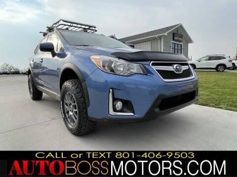 2016 Subaru Crosstrek for sale at Auto Boss in Woods Cross UT