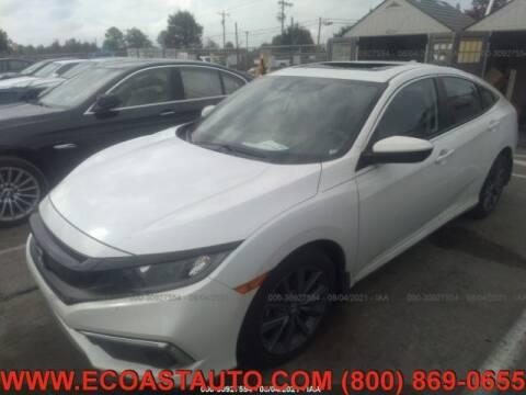 2020 Honda Civic for sale at East Coast Auto Source Inc. in Bedford VA