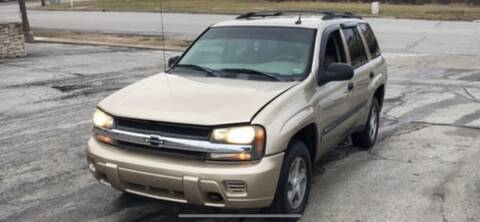 2004 Chevrolet TrailBlazer for sale at VICTORY LANE AUTO in Raymore MO