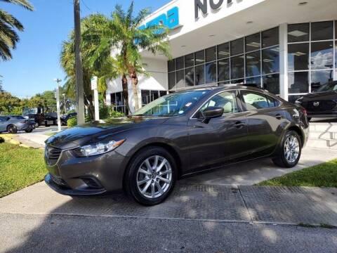 2017 Mazda MAZDA6 for sale at Mazda of North Miami in Miami FL