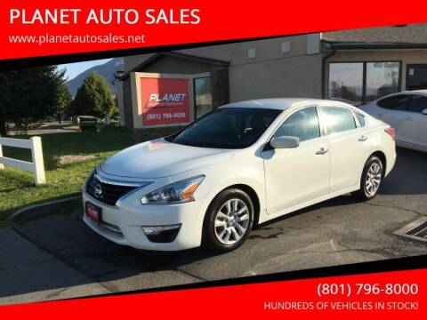 2015 Nissan Altima for sale at PLANET AUTO SALES in Lindon UT