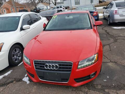 2010 Audi A5 for sale at Brothers Used Cars Inc in Sioux City IA