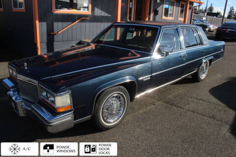 1981 Cadillac Fleetwood Brougham for sale at Sabeti Motors in Tacoma WA
