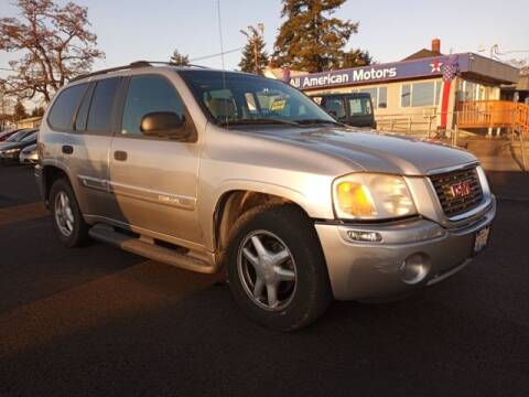 2004 GMC Envoy for sale at All American Motors in Tacoma WA