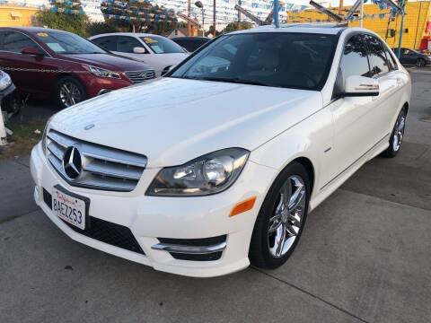 2012 Mercedes-Benz C-Class for sale at Plaza Auto Sales in Los Angeles CA