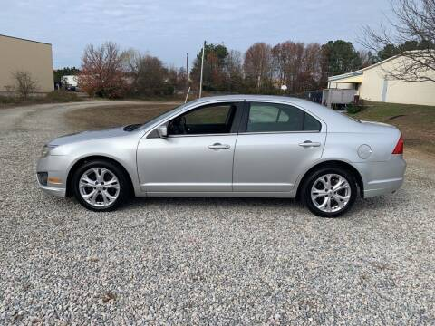 2012 Ford Fusion for sale at MEEK MOTORS in North Chesterfield VA
