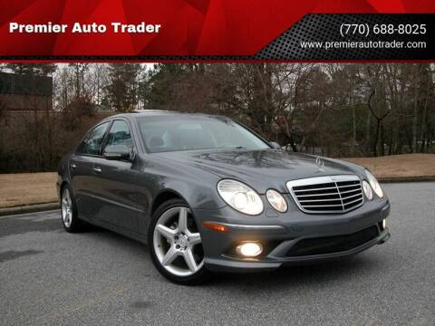 2009 Mercedes-Benz E-Class for sale at Premier Auto Trader in Alpharetta GA