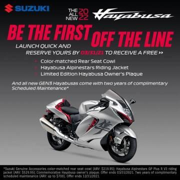 2022 Suzuki Hayabusa for sale at Suzuki of Tulsa in Tulsa OK