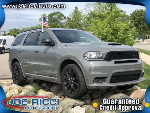 2020 Dodge Durango for sale at JOE RICCI AUTOMOTIVE in Clinton Township MI