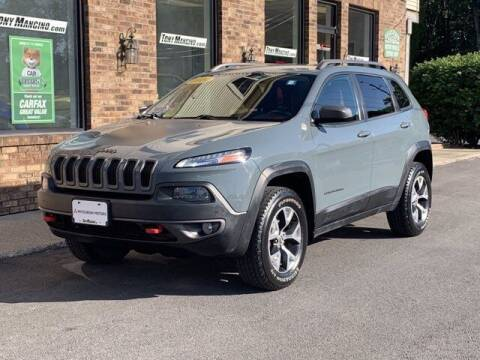 2014 Jeep Cherokee for sale at The King of Credit in Clifton Park NY