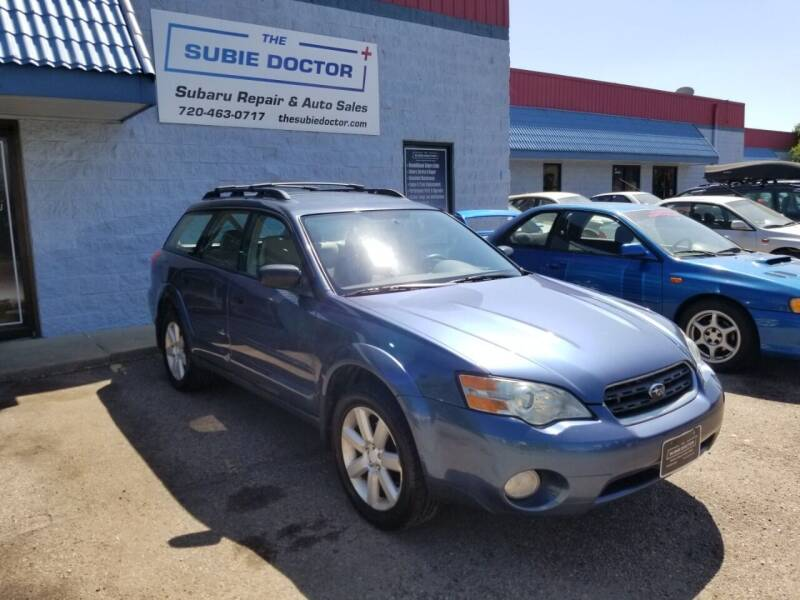 2006 Subaru Outback for sale at The Subie Doctor in Denver CO