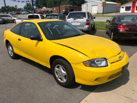 2004 Chevrolet Cavalier for sale at Wise Investments Auto Sales in Sellersburg IN
