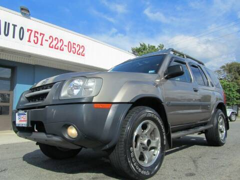 2004 Nissan Xterra for sale at Trimax Auto Group in Norfolk VA