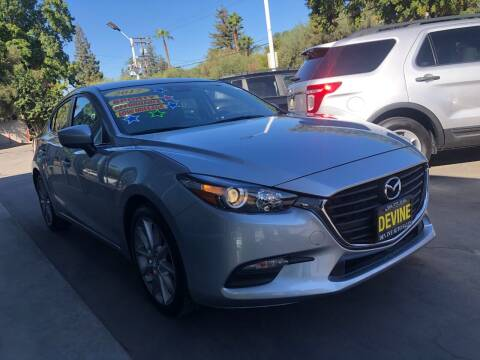 2017 Mazda MAZDA3 for sale at Devine Auto Sales in Modesto CA