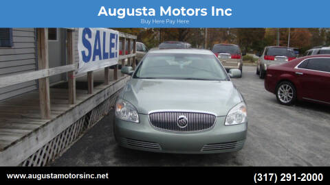 2006 Buick Lucerne for sale at Augusta Motors Inc in Indianapolis IN