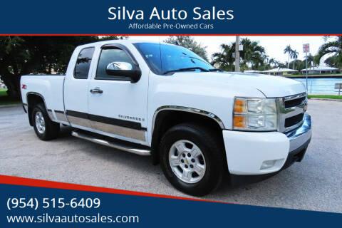 2008 Chevrolet Silverado 1500 for sale at Silva Auto Sales in Pompano Beach FL