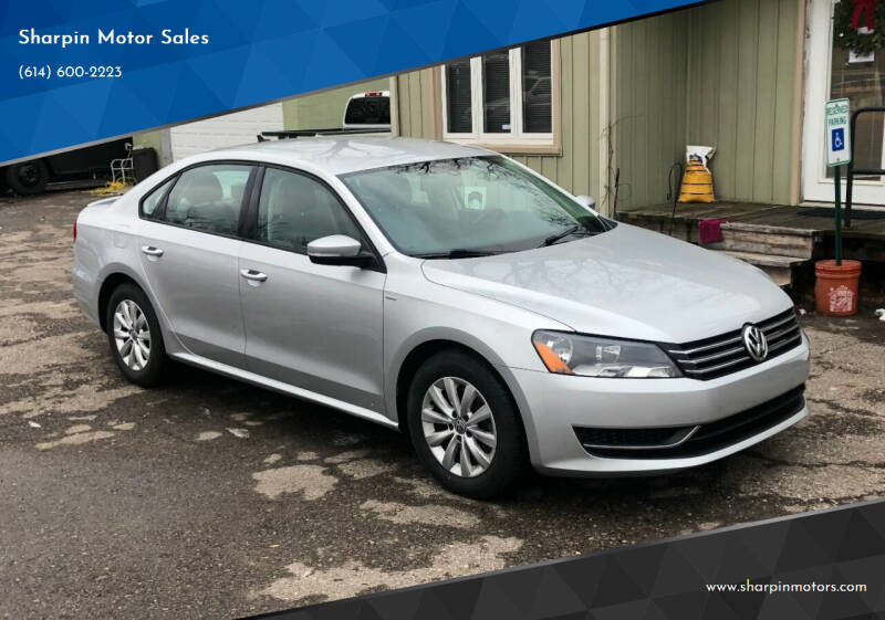 2014 Volkswagen Passat for sale at Sharpin Motor Sales in Columbus OH