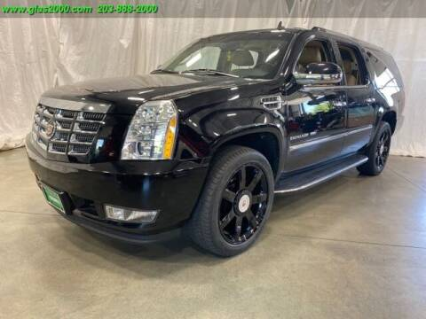 2014 Cadillac Escalade ESV for sale at Green Light Auto Sales LLC in Bethany CT