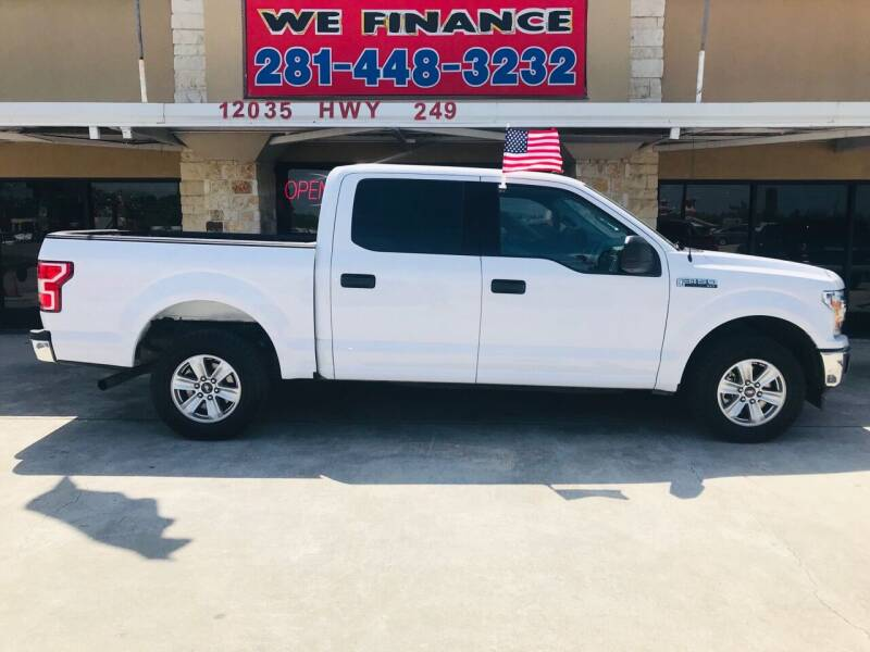 2019 Ford F-150 for sale at FREDYS CARS FOR LESS in Houston TX
