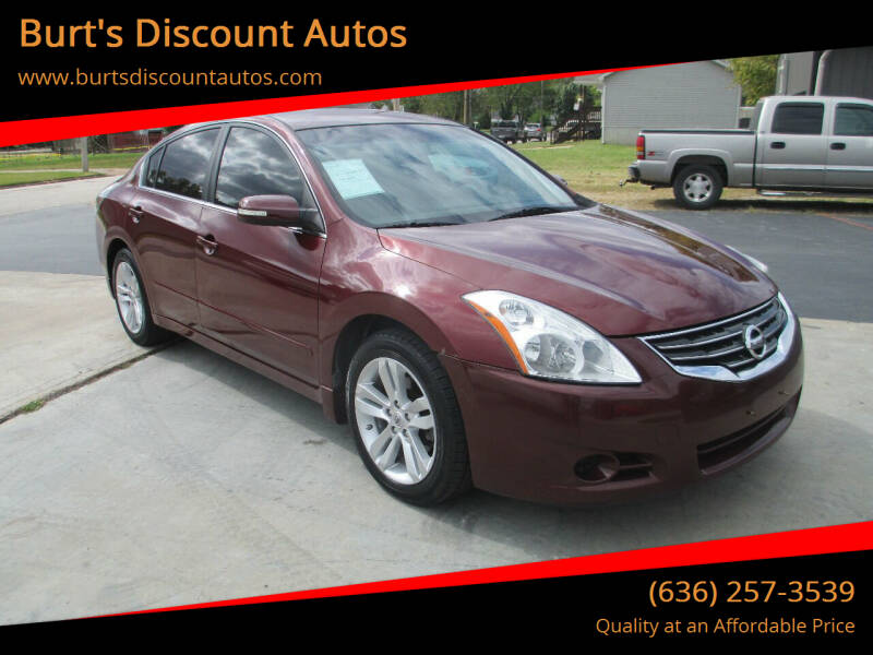 2012 Nissan Altima for sale at Burt's Discount Autos in Pacific MO