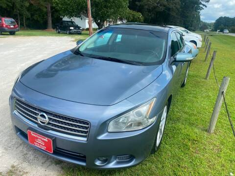 2010 Nissan Maxima for sale at Southtown Auto Sales in Whiteville NC