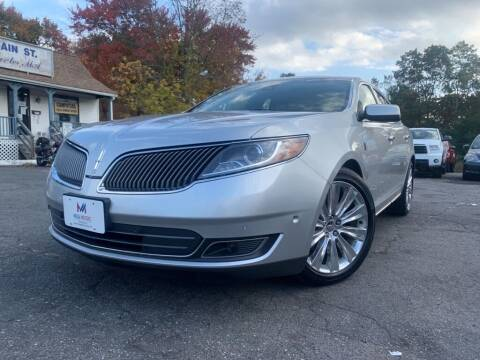 2013 Lincoln MKS for sale at Mega Motors in West Bridgewater MA