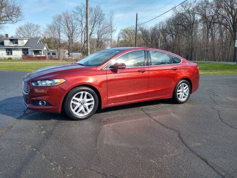 2014 Ford Fusion for sale at Depue Auto Sales Inc in Paw Paw MI