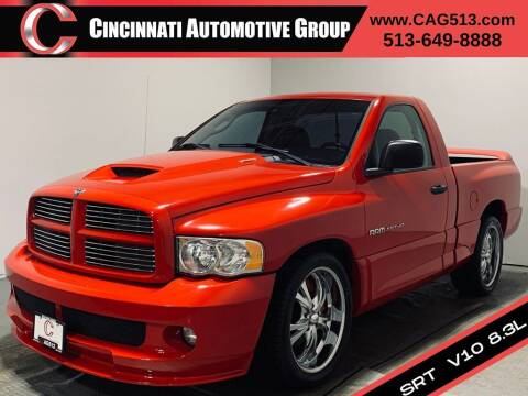 2005 Dodge Ram Pickup 1500 SRT-10 for sale at Cincinnati Automotive Group in Lebanon OH