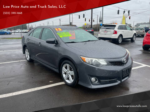 2013 Toyota Camry for sale at Low Price Auto and Truck Sales, LLC in Brooks OR