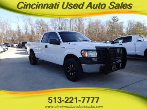 2012 Ford F-150 for sale at Cincinnati Used Auto Sales in Cincinnati OH