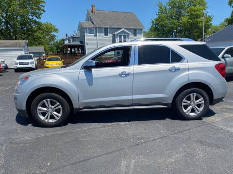 2012 Chevrolet Equinox for sale at E & A Auto Sales in Warren OH