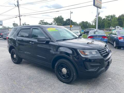 2017 Ford Explorer for sale at MetroWest Auto Sales in Worcester MA