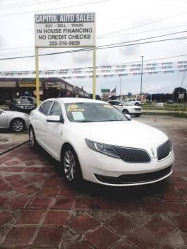 2014 Lincoln MKS for sale at CAPITOL AUTO SALES LLC in Baton Rouge LA