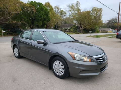 2011 Honda Accord for sale at G&J Car Sales in Houston TX