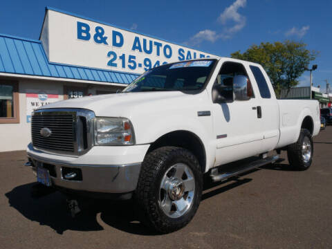 2007 Ford F-350 Super Duty for sale at B & D Auto Sales Inc. in Fairless Hills PA
