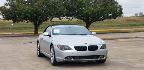 2005 BMW 6 Series for sale at America's Auto Financial in Houston TX