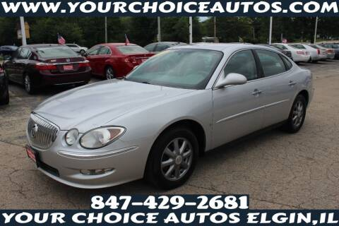 2009 Buick LaCrosse for sale at Your Choice Autos - Elgin in Elgin IL