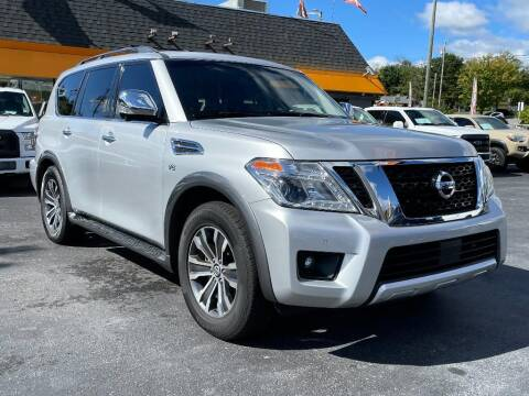 2017 Nissan Armada for sale at Ole Ben Franklin Motors Clinton Highway in Knoxville TN