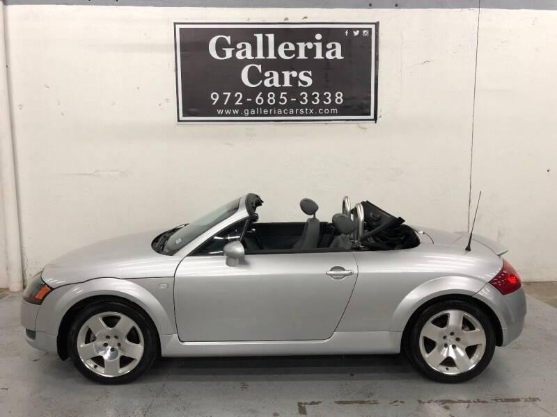 2001 Audi TT for sale at Galleria Cars in Dallas TX