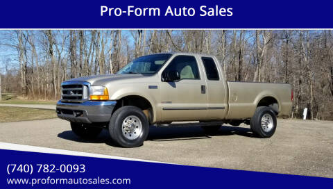 2000 Ford F-250 Super Duty for sale at Pro-Form Auto Sales in Belmont OH