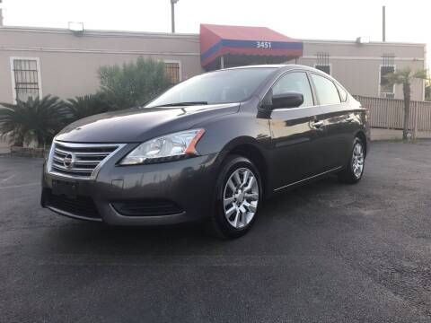 2015 Nissan Sentra for sale at Saipan Auto Sales in Houston TX