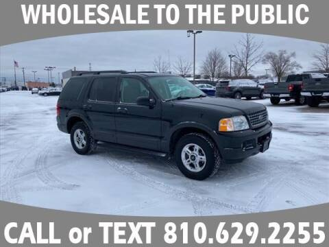 2003 Ford Explorer for sale at Lasco of Grand Blanc in Grand Blanc MI