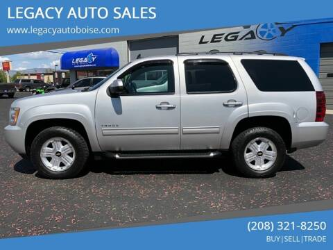 2010 Chevrolet Tahoe for sale at LEGACY AUTO SALES in Boise ID