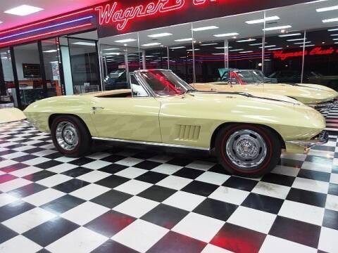 1967 Chevrolet Corvette for sale at Wagner's Classic Cars in Bonner Springs KS