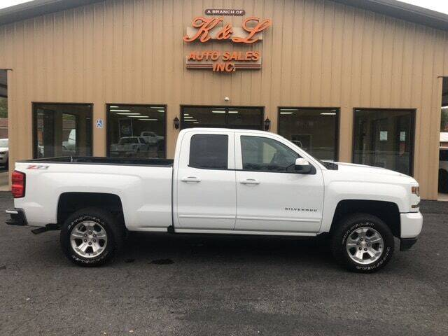 2017 Chevrolet Silverado 1500 for sale at K & L AUTO SALES, INC in Mill Hall PA