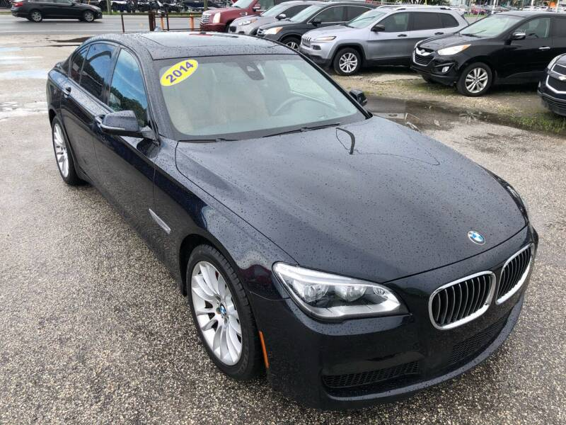 2014 BMW 7 Series for sale at Marvin Motors in Kissimmee FL