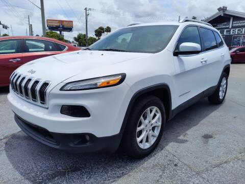2014 Jeep Cherokee for sale at Celebrity Auto Sales in Port Saint Lucie FL