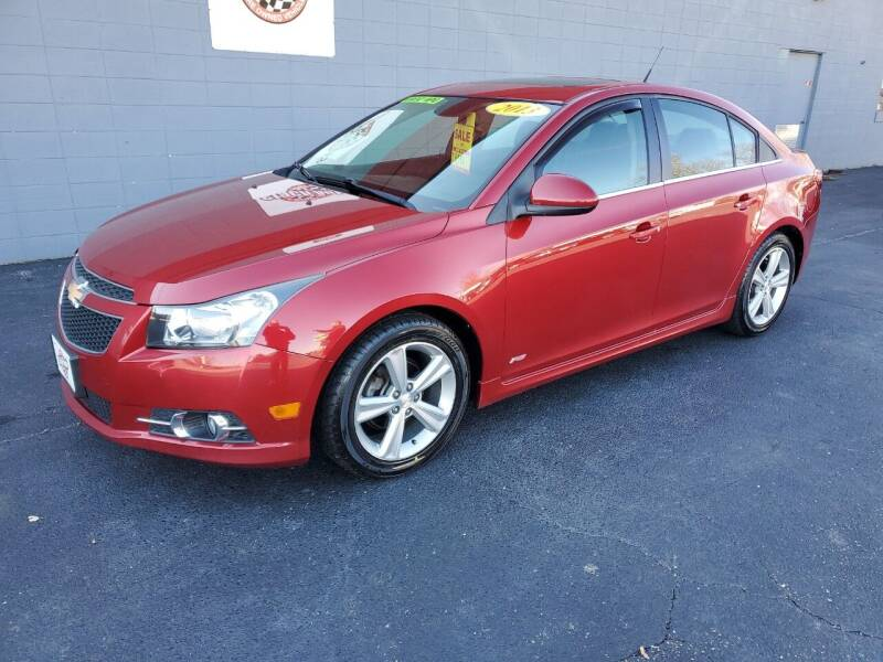 2013 Chevrolet Cruze for sale at Stach Auto in Edgerton WI