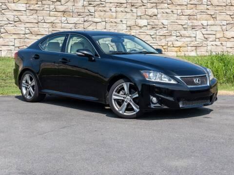 2012 Lexus IS 250 for sale at Car Hunters LLC in Mount Juliet TN